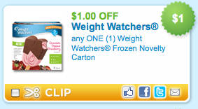 Weight watchers ice cream coupons printable 2018