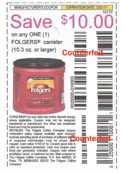 Folgers Coffee Printable Coupons