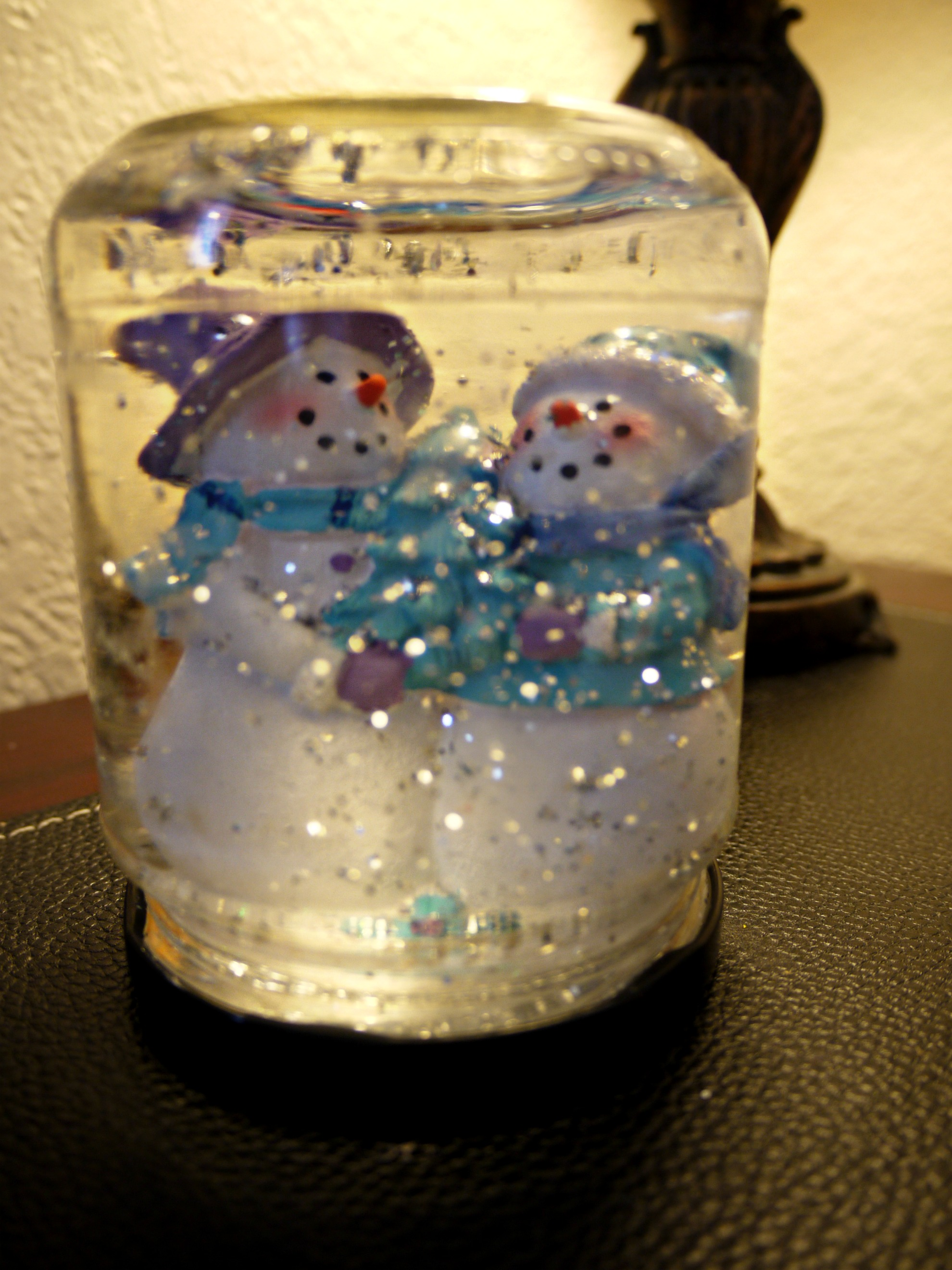 Christmas Snow Globe Jar Craft Preschool Crafts For Kids