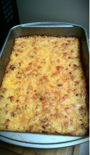 Copy Cat Recipe Cracker Barrel Hash Brown Casserole | Budget Savvy ...