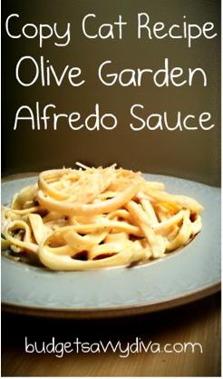 how - Olive Garden Alfredo Sauce Recipe