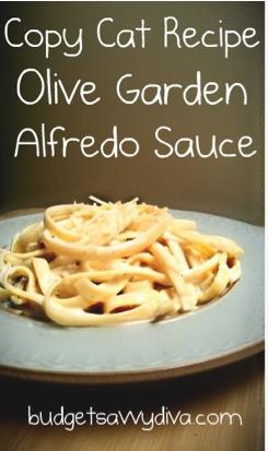Copycat recipe olive garden dressing budget savvy diva for Olive garden chicken alfredo price