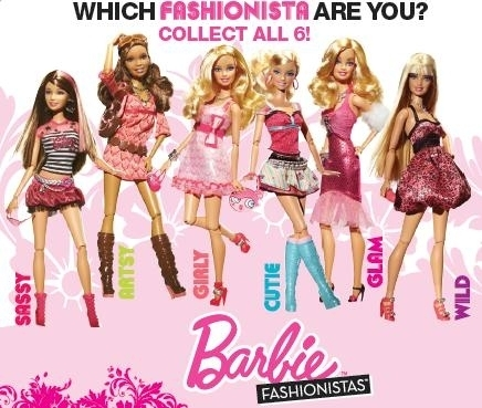 Target Barbie Fashionistas Dolls 2015 on the Barbie Fashionistas