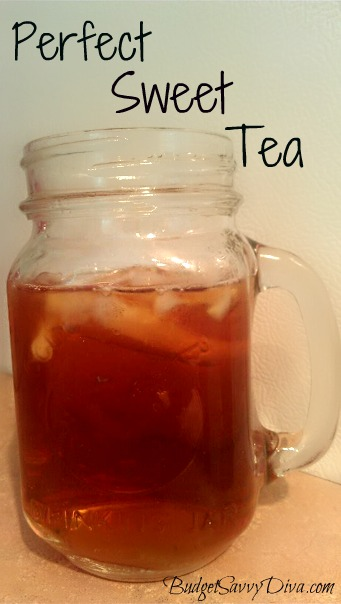 Perfect Southern Sweet Tea Recipe Budget Savvy Diva
