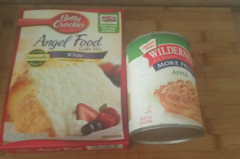 recipe: recipe with angel food cake mix and pie filling [17]