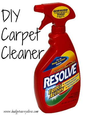 How To Make Your Own Carpet Cleaner Budget Savvy Diva