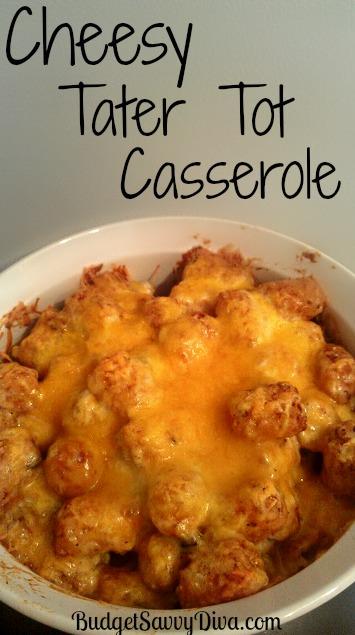 Cheesy Potato Tots Recipe — Dishmaps