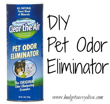 Diy Pet Odor Eliminator Budget Savvy Diva