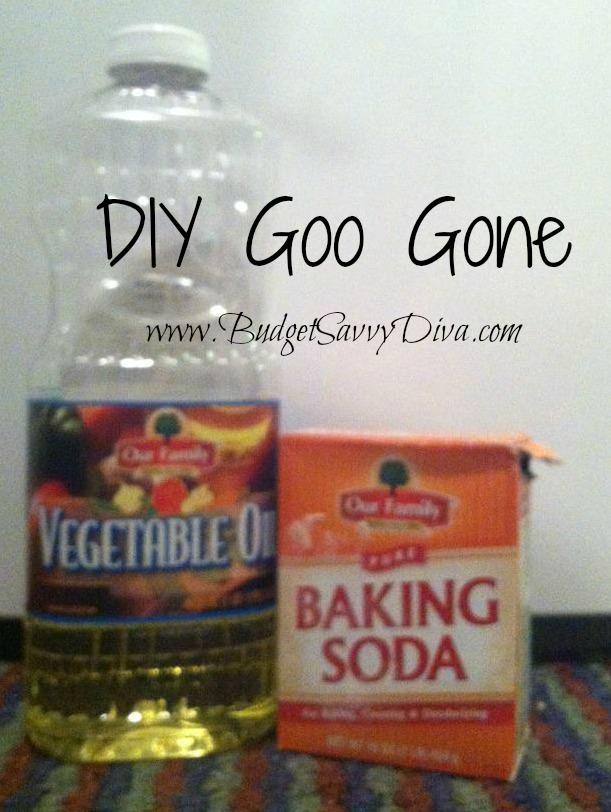 Diy Goo Gone Budget Savvy Diva