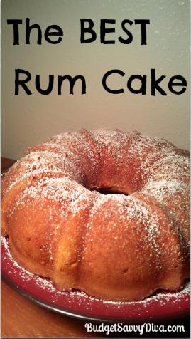 Easy Cuban Rum Cake