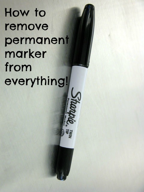 how to remove permanent marker from everything budget savvy diva