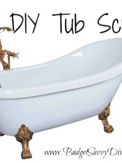 diy bathtub cleaner