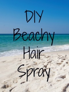 diy beachy hair spray