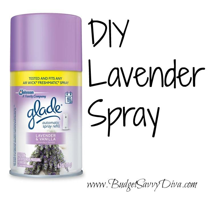 Homemade Lavender Spray - Budget Savvy Diva