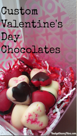 Custom Valentine S Day Chocolates Recipe Budget Savvy Diva