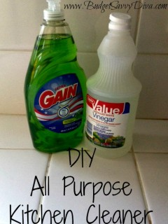 diy kitchen cleaner