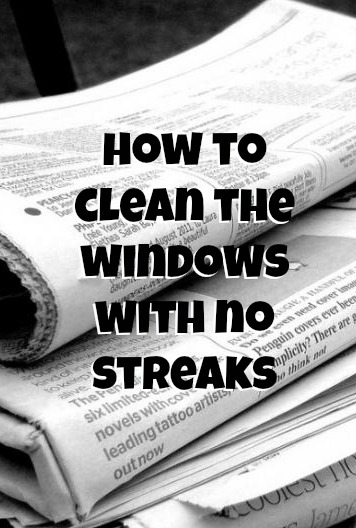 Clean The Windows With No Streaks Budget Savvy Diva