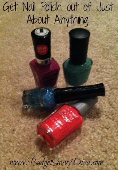 How To Remove Nail Polish From Just About Anything