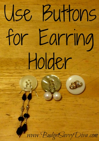 Earring holder marks and spencers