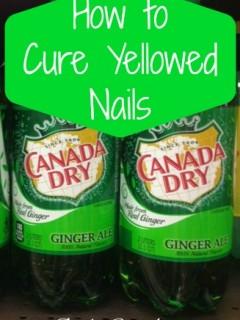 Get Rid of Yellowed Nails
