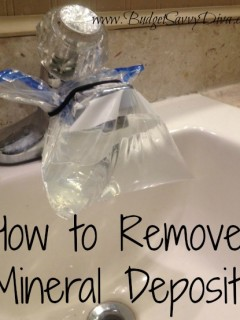How to Remove Mineral Deposits