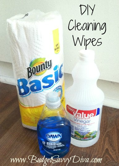 Diy Cleaning Wipes Budget Savvy Diva