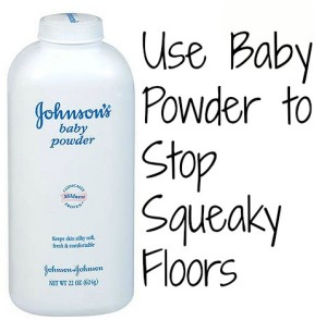 Baby Powder Floors