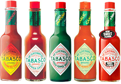 Sauce Tabasco Tabasco Pepper Sauce