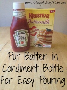 Condiment Bottle for Mix