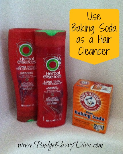 Use Baking Soda as a Hair Cleanser