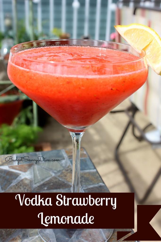 vodka strawberry lemonade recipe budget savvy diva