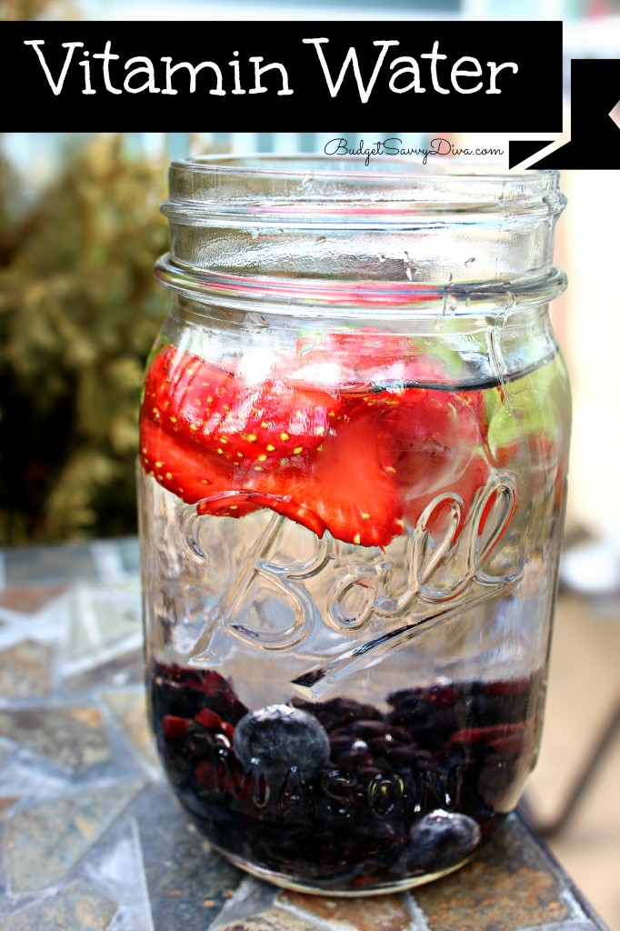 Vitamin Water Recipe