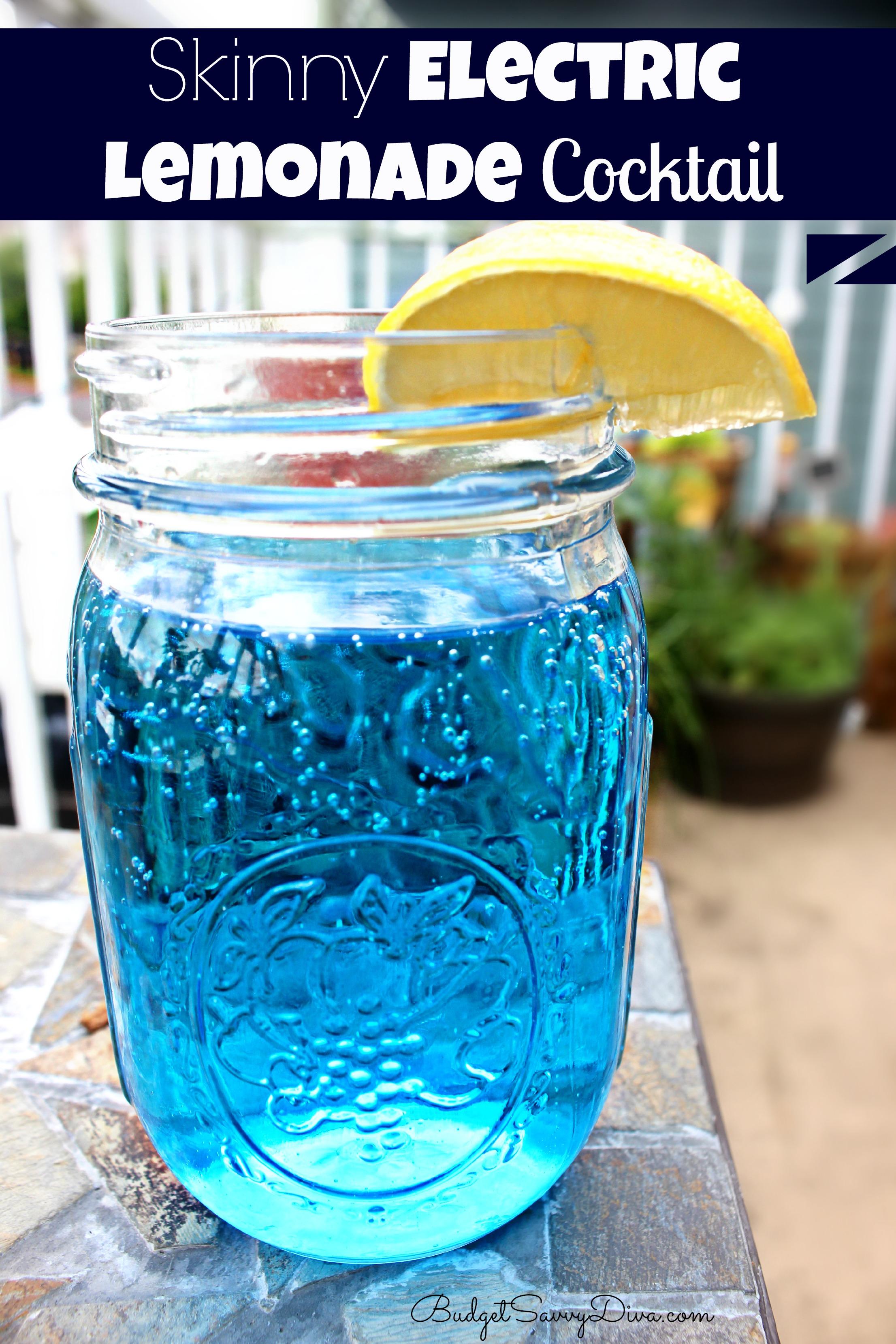 Skinny Electric Lemonade Recipe
