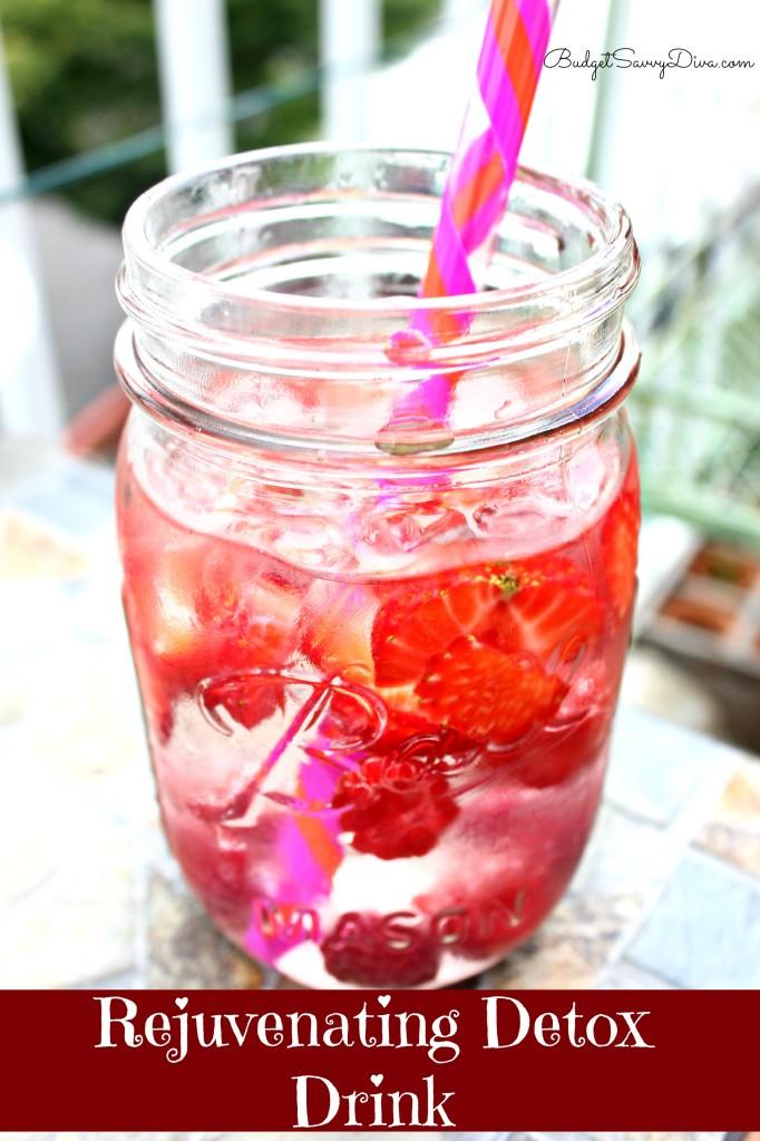 Rejuvenating Detox Drink Recipe