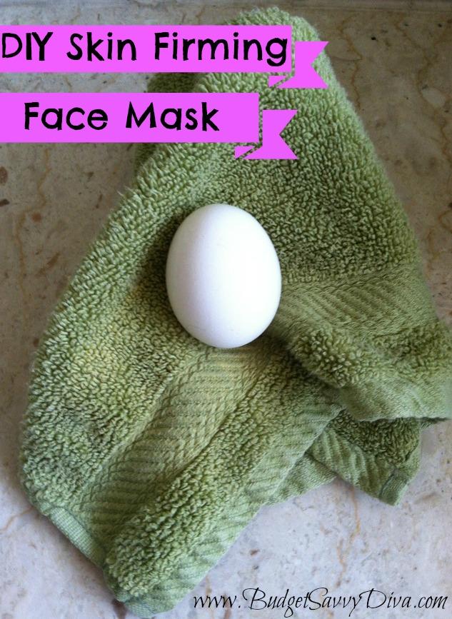 DIY Skin Firming Face Mask