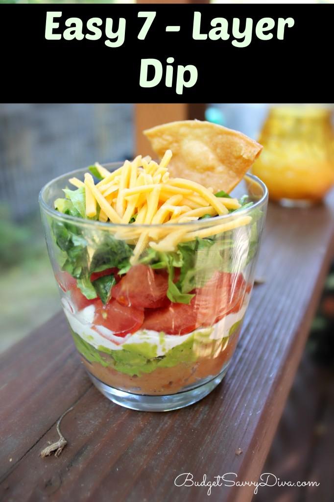 Easy Seven Layer Dip Recipe
