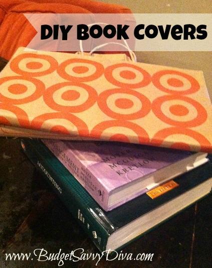 Diy Book Cover For School : Diy school book covers budget savvy diva