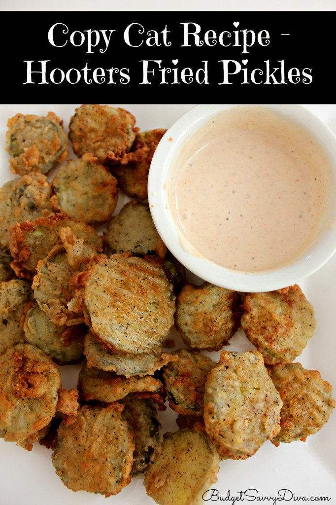Copy Cat Recipe - Hooters Fried Pickles