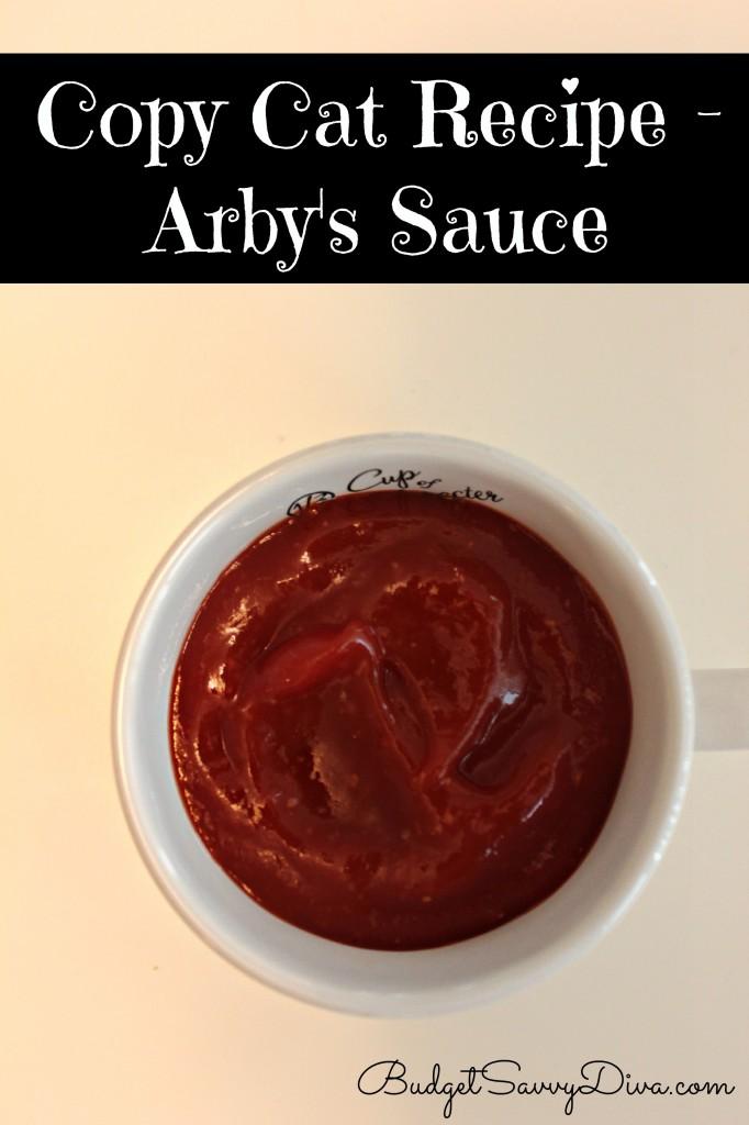 Copy Cat Recipe - Arby's Sauce