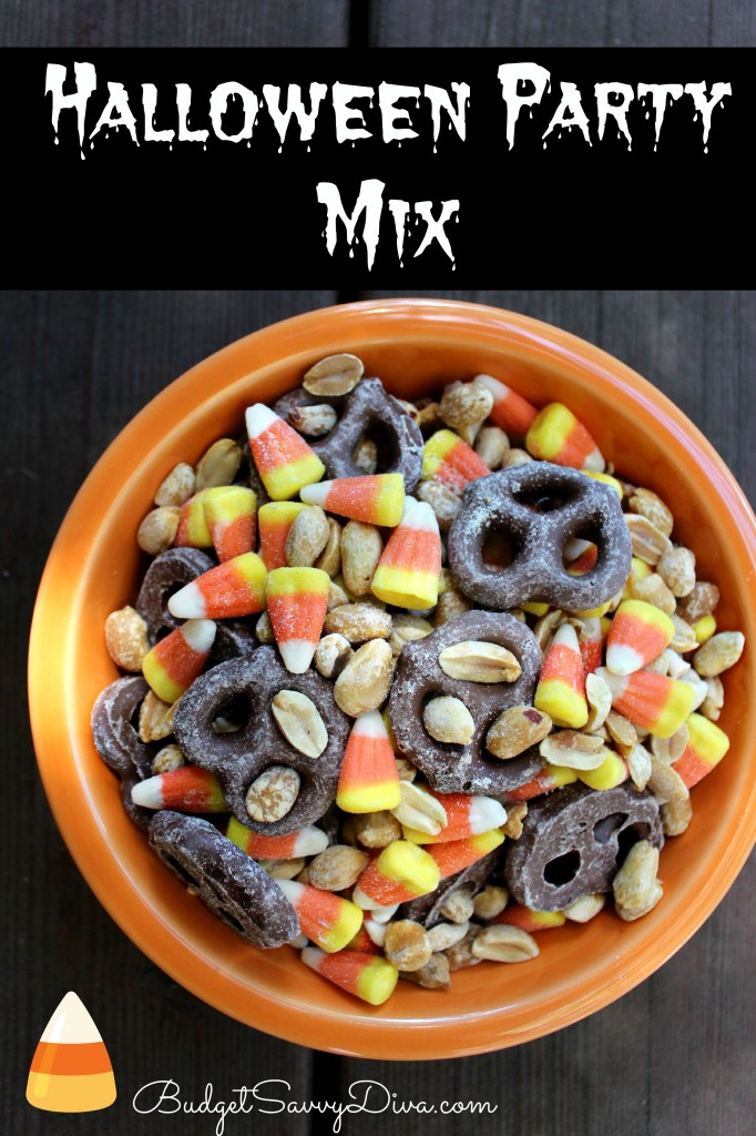 halloween party mix recipe