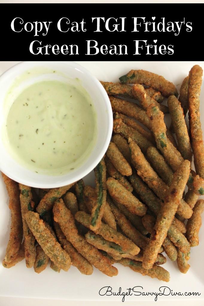 Copy Cat Recipe - TGI Friday's Green Bean Fries