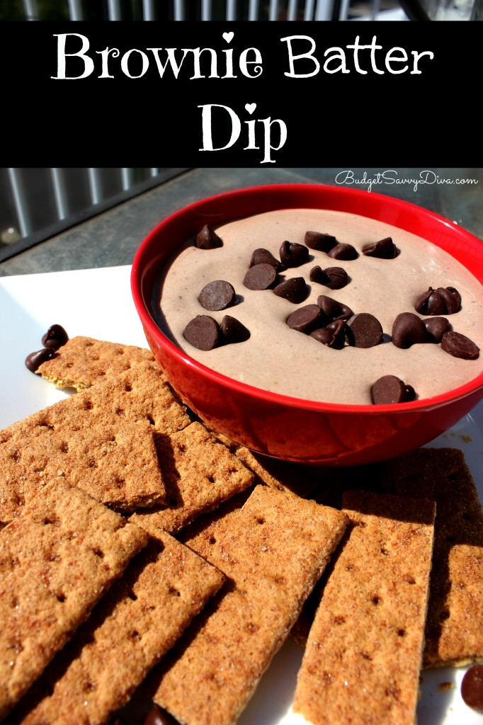 Brownie Batter Dip Recipe