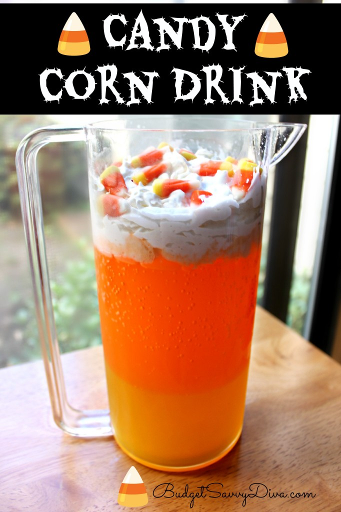 Candy Corn Drink Recipe