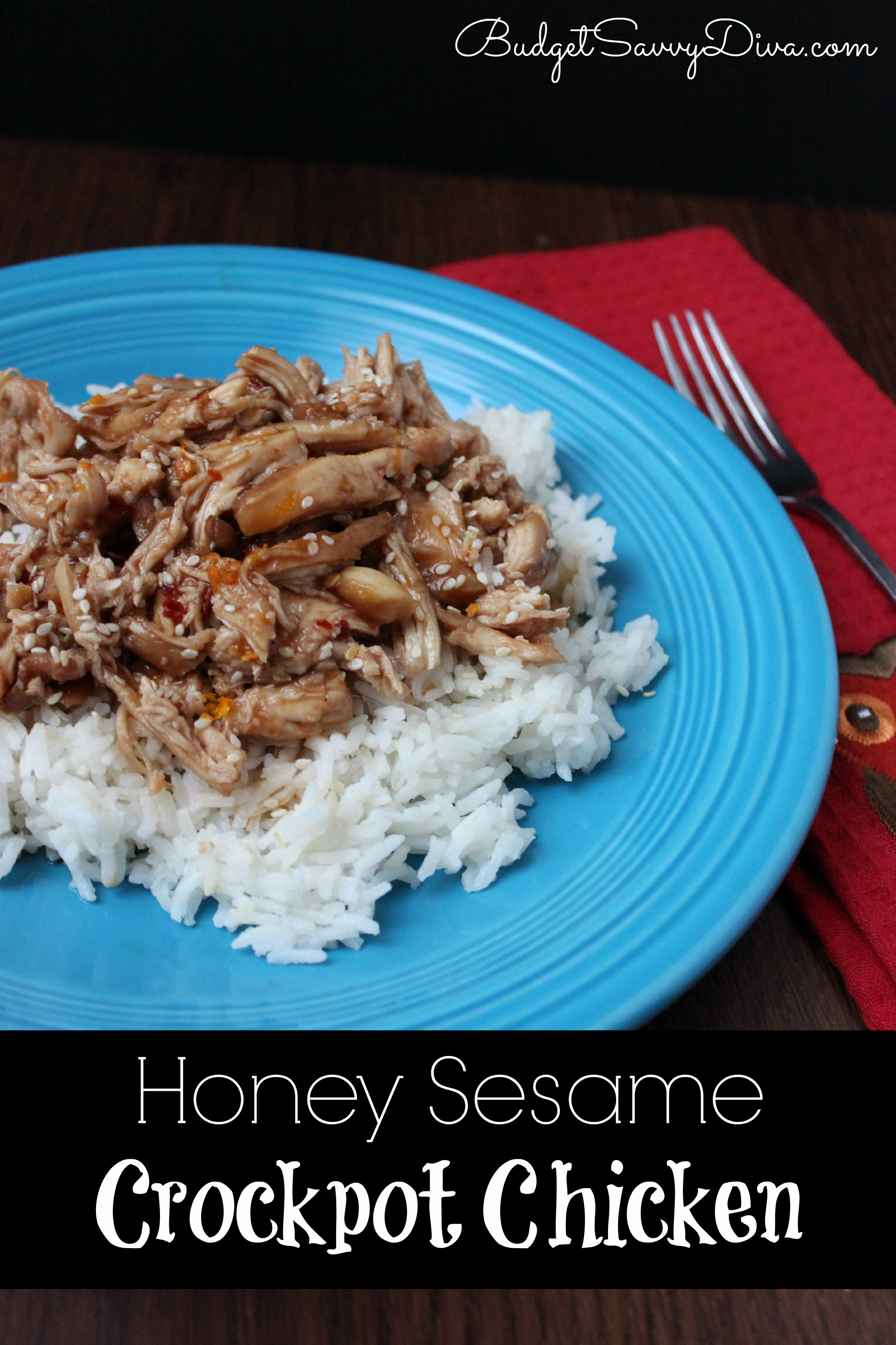 Honey Sesame Crockpot Chicken Recipe