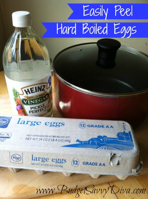 How To Easily Peel Hard Boiled Eggs Budget Savvy Diva