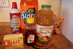 Candy Corn Drink Recipe