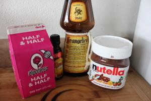 Nutella Mudslide Cocktail recipe