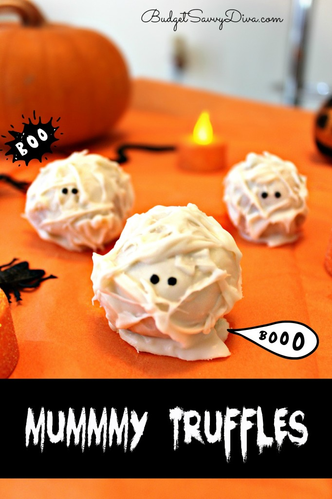 Mummy Truffles Recipe