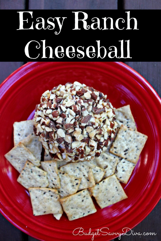 Easy Ranch Cheeseball Recipe
