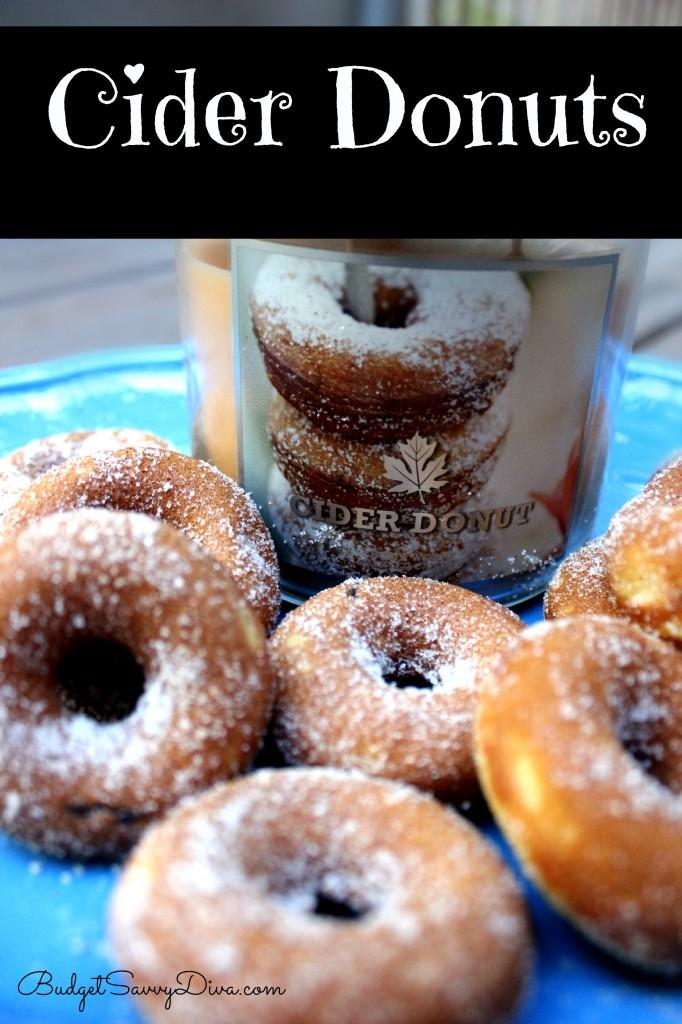 Cider Donuts Recipe